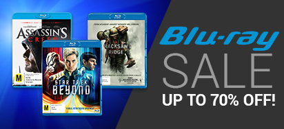 Up to 70% off Blu-ray!