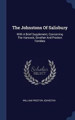 The Johnstons of Salisbury by William Preston Johnston image