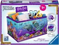 Ravensburger : Dolphins 3D Storage Box 216pc