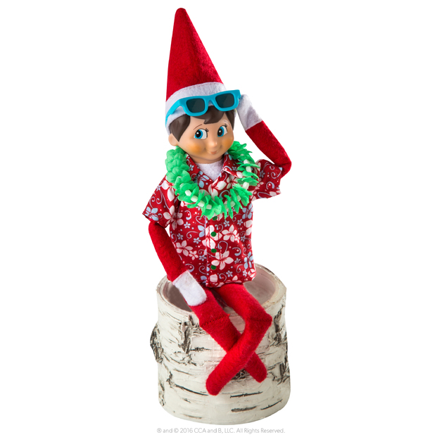 Elf on the Shelf: 2018 Couture - Hawaiian Shirt