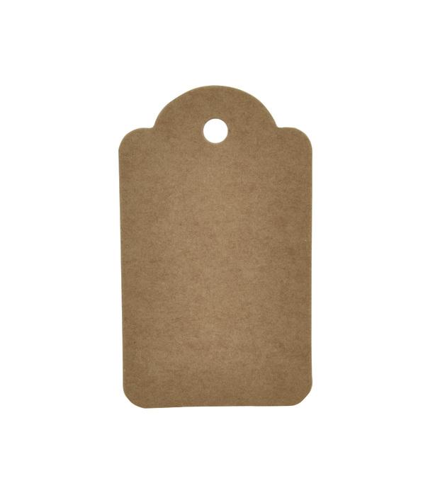 Kaisercraft: Kraft Tags - Small Scallop (12 Pieces)