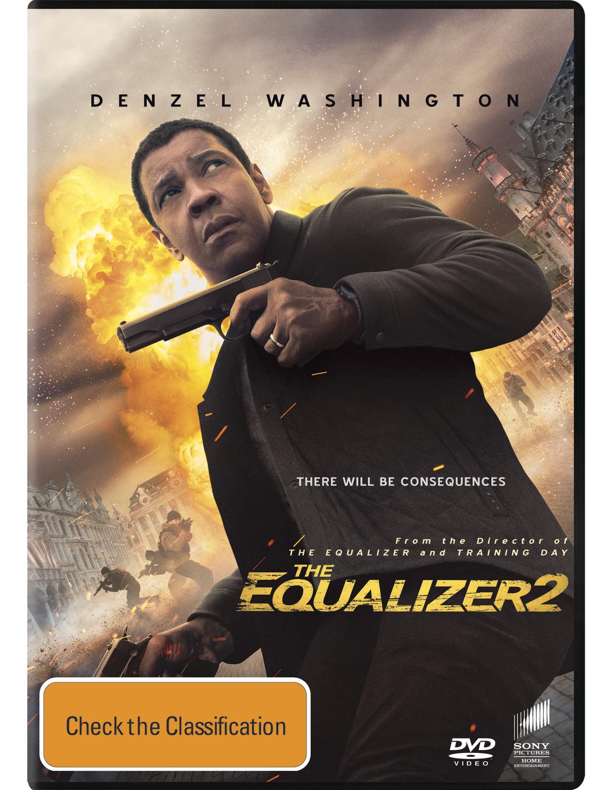 The Equalizer 2 on DVD image