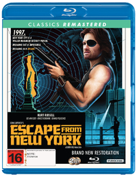 Escape From New York (1981) on Blu-ray