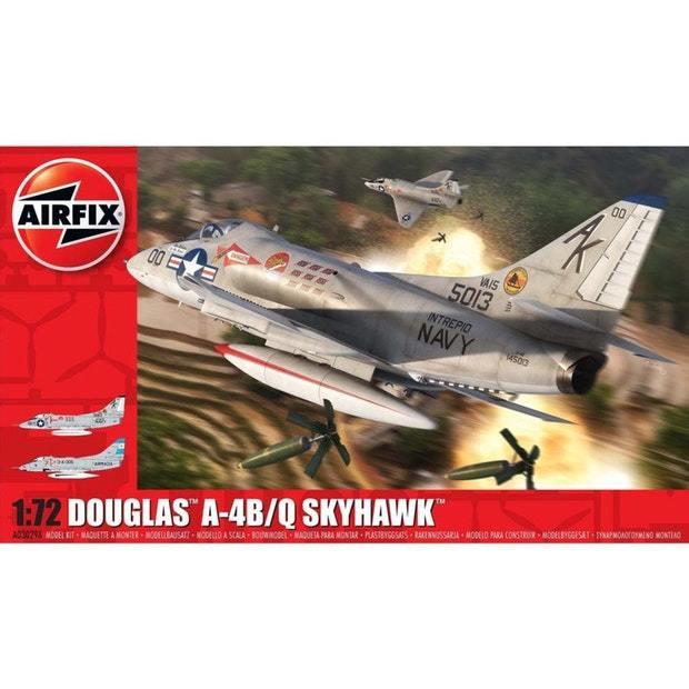 Airfix 1:72 Douglas A-4B/Q Skyhawk Scale Model Kit