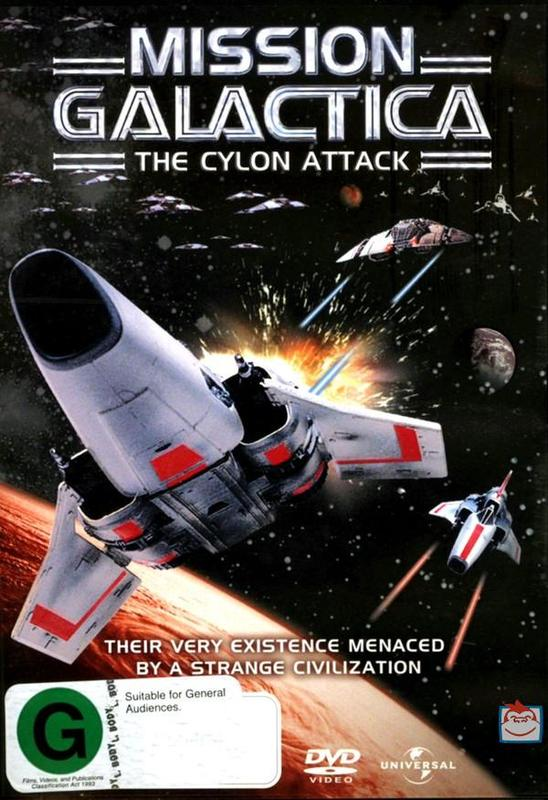 Mission Galactica - The Cylon Attack on DVD