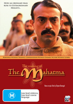 The Making Of The Mahatma on DVD