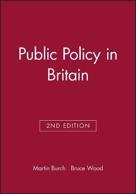Public Policy in Britain by Martin Burch image