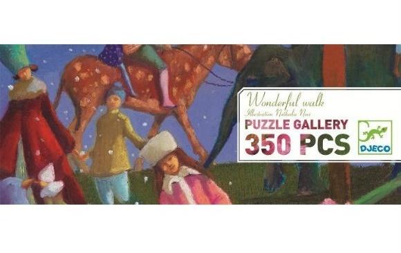 Djeco: 350pc Wonderful Walk Puzzle