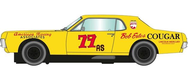 Scalextric: DPR '67 Cougar XR7 Trans Am #79 - Slot Car