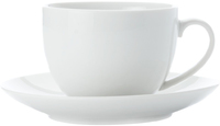 Casa Domani Casual White Cup & Saucer 200ML