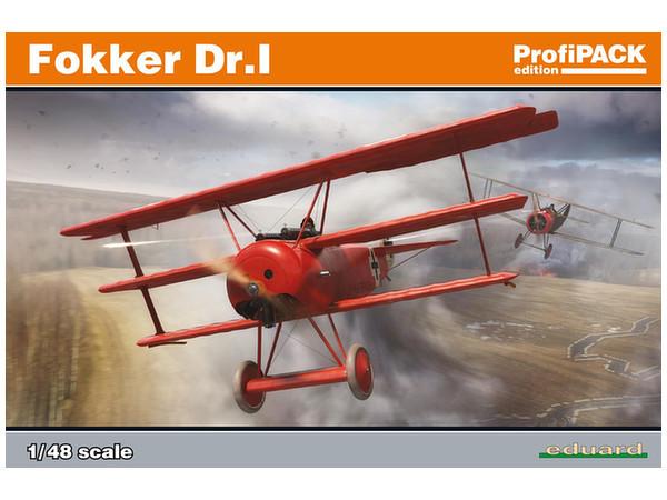 Eduard: 1/48 Fokker Dr.I ProfiPACK - Model Kit image
