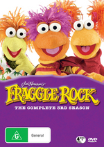 Fraggle Rock (Jim Henson's) - Complete Season 3 (4 Disc Set) on DVD