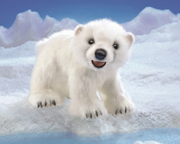 Folkmanis: Hand Puppet - Polar Bear Cub