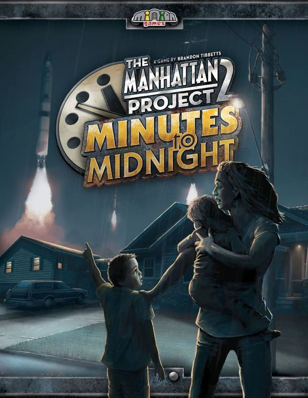 The Manhattan Project 2: Minutes to Midnight - Board Game