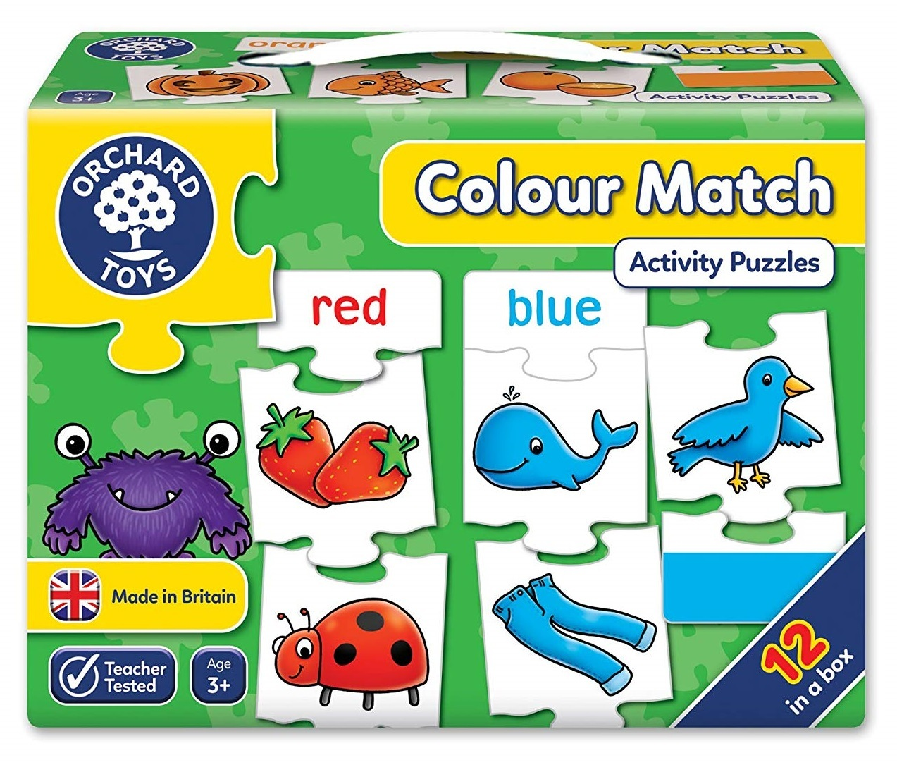 Orchard Toys: Colour Match - Jigsaw Game image