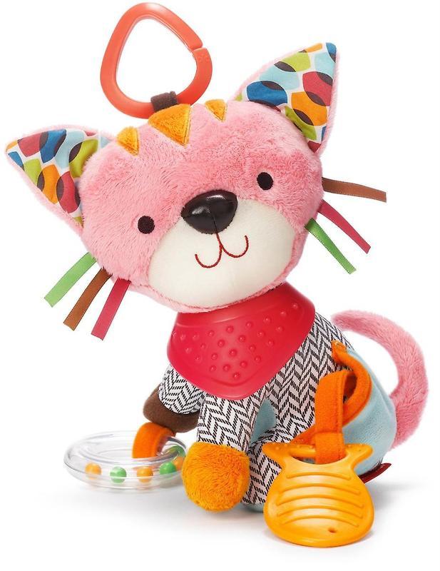 Skip Hop Banana Buddies Activity Toy - Kitty