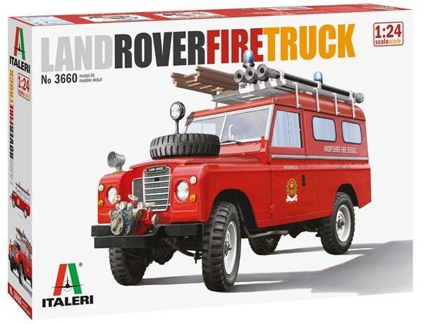 Italeri: 1/24 Land Rover Fire Truck - Model Kit