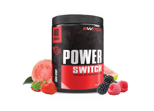 Switch Nutrition: Power Switch - Guava Berry (40 Serve)
