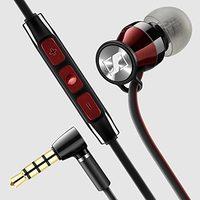 Sennheiser Momentum In-Ear I Headphones (iOS Version) - Black/Red