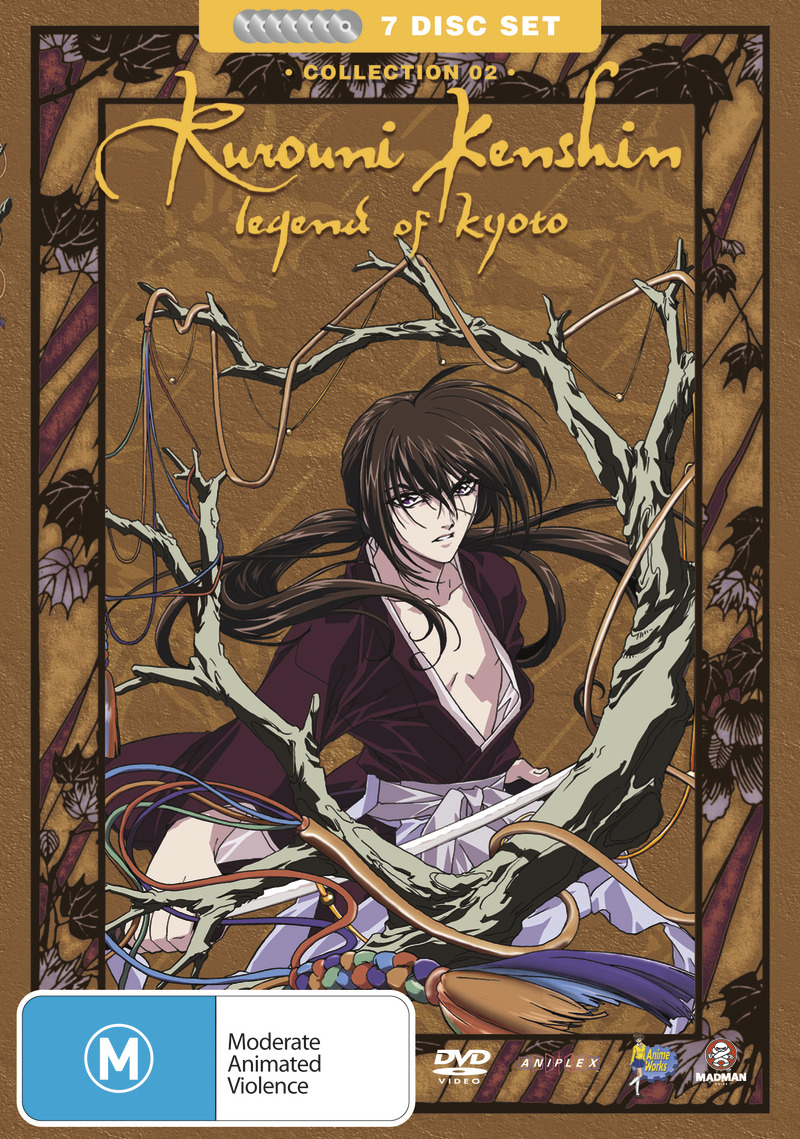 Rurouni Kenshin - Box 2 - Legend of Kyoto Collection (Fatpack) on DVD image