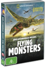 David Attenborough Presents Flying Monsters on DVD image