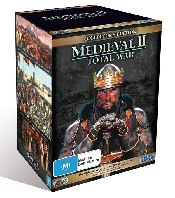 Medieval II: Total War Collector's Edition for PC Games