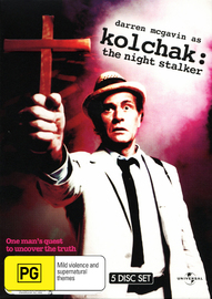 Kolchak: The Night Stalker (5 Disc Set) on DVD