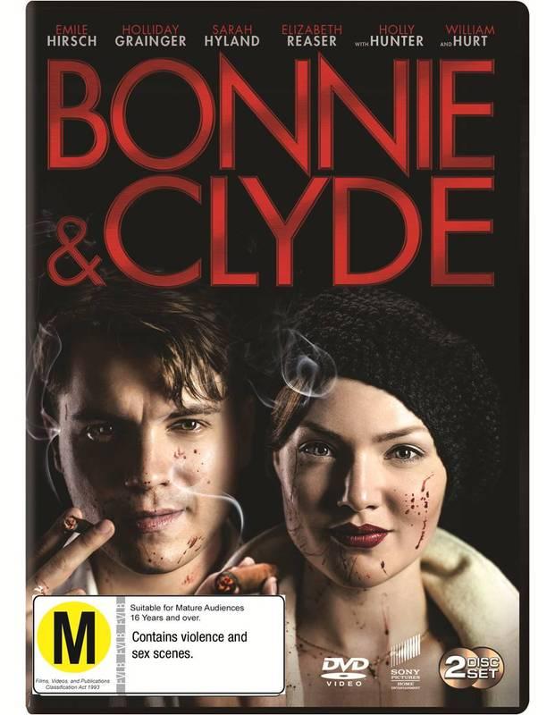 Bonnie & Clyde on DVD