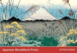 Japanese Woodblock Prints: 30 Postcards by Katsushika Hokusia