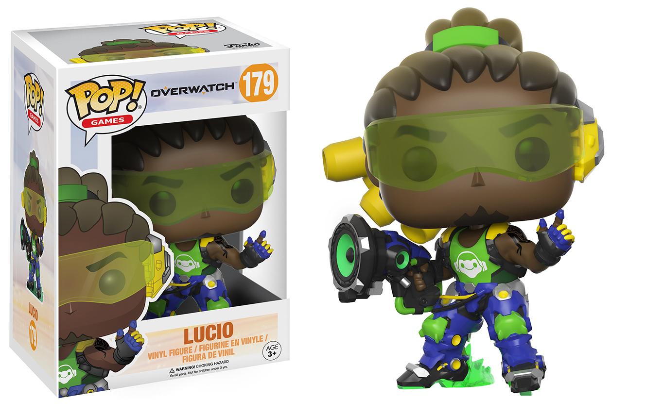 Overwatch – Lucio Pop! Vinyl Figure image