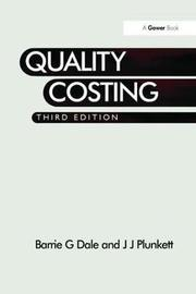 Quality Costing by Barrie G. Dale