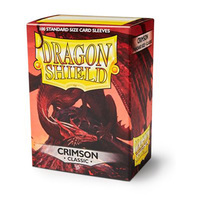 Dragon Shield Crimson Card Sleeves
