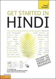 Teach Yourself Get Started in Hindi by Rupert Snell image