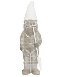 Garden Ornament Gnome with Shovel