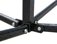 Heavy Duty Steel Gazebo 3x3m Waterproof - Blue