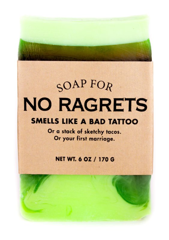 Whiskey River Co: Soap for No Ragrets