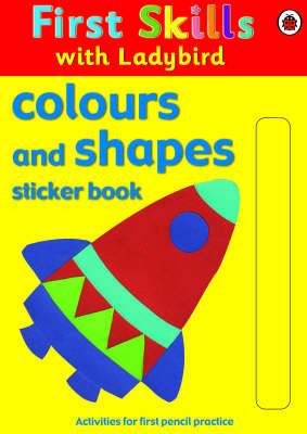 Colours and Shapes Sticker Book