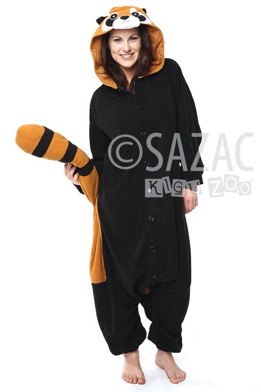 e30b1aa07dbc Red Panda Kigurumi Onesie