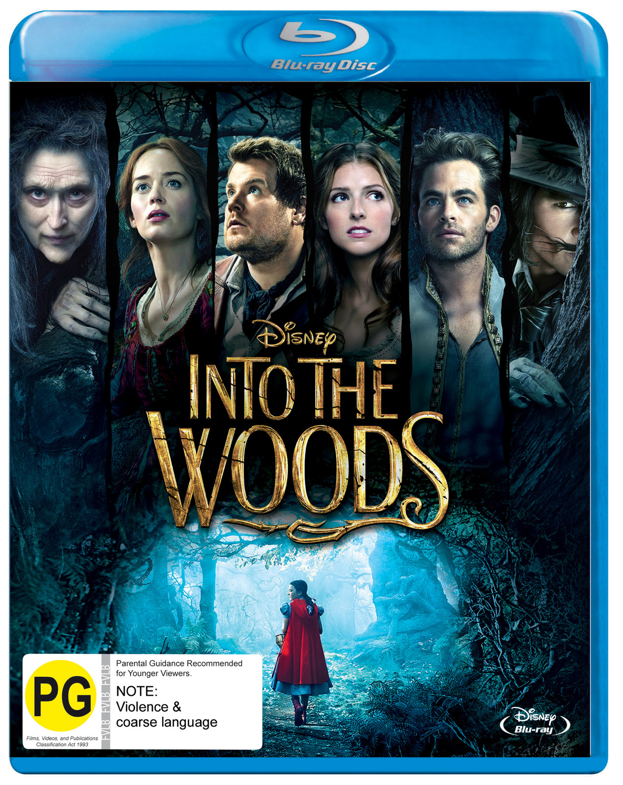 Into The Woods on Blu-ray image