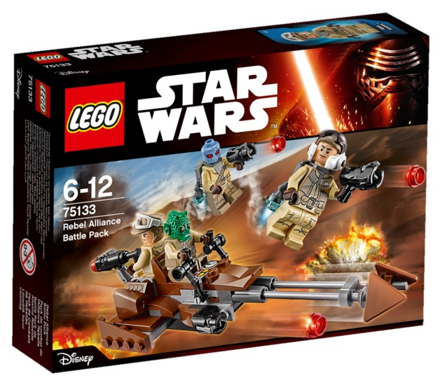 LEGO Star Wars - Rebel Alliance Battle Pack (75133)