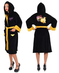 DC Comics Bombshells - Batgirl Fleece Bathrobe