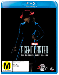 Agent Carter - The Complete First Season on Blu-ray
