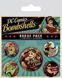 DC Comics Pin Badges (Bombshells)