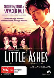 Little Ashes DVD image