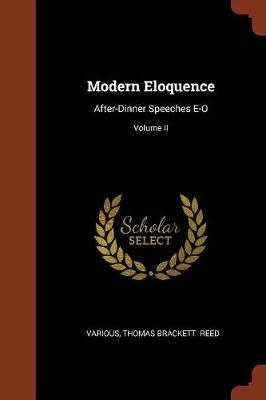 Modern Eloquence by Various ~