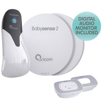 Oricom: Babysense2 Breathing and Secure55 Audio Monitor Pack
