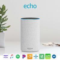 Amazon: Echo (2nd Generation) Speaker - Sandstone image