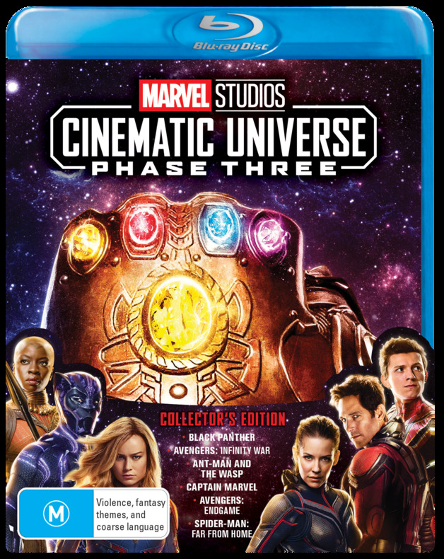 Marvel Cinematic Universe: Phase 3 (Part 2) - Box Set on Blu-ray