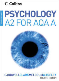Psychology for A2 Level for AQA (A) by Mike Cardwell image