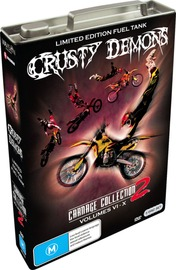 Crusty Demons Carnage Collection (Fuel Tank) Vol 2 on DVD